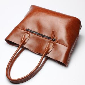 【春夏新品惠】2018新款真皮女包女士品牌牛皮包包 单肩包手提包箱包