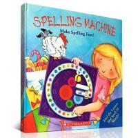 【全店300减100】【现货大开本】英文原版Spelling Machine学乐神奇的拼写机器 单词拼读游戏书 寓教于乐