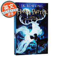 哈利波特与阿兹卡班的囚徒 英文原版 Harry Potter and the Prisoner of Azkaban 英国版 进口图书 JK罗琳 青少年