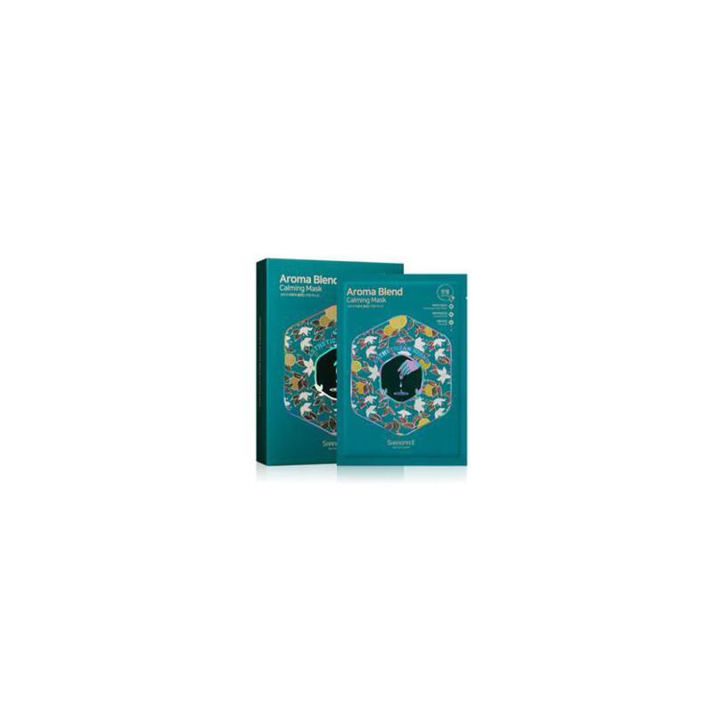 韩国SHANGPREE香蒲丽 芳香橙花面膜贴补水10片装 冬季护肤 防晒补水保湿 可支持礼品卡