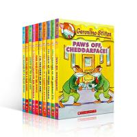 【全店300减100】英文原版进口 Geronimo Stilton 1-10 老鼠记者 彩色插图进口儿童小说章节书7-