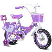 儿童自行车脚踏单车女孩公主款2-5-6-7-8-9-10岁