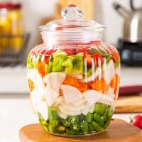 玻璃密封罐茶叶罐五谷杂粮储物罐泡菜坛子家用腌菜罐