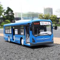 仿真充电儿童公共汽车巴士大巴车模型大号电动遥控公交车玩具