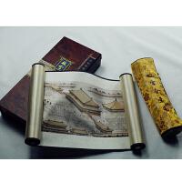 中国特色礼品送老外北京特色礼品中国风元素礼品丝绸画故宫纪念品