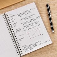 笔记本文具康奈尔A5本子横线格子空白网格本思维导图记事本小方格线圈本每日计划本高效日程本