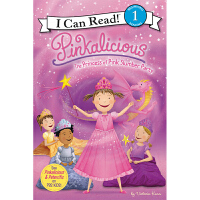 I Can Read Level 1 英文原版进口 粉红控系列Pinkalicious: The Princess of