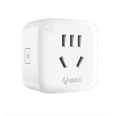包邮公牛远程WiFi插座10A智能无线网络插座可手机操控 携手阿里智能