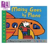【中商原版】小鼠波波系列 Maisy Goes by Plane 小鼠波波坐飞机 低幼早教认知启蒙绘本 平装 英文原版