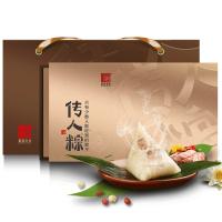 【当当自营】真真老老 粽子 粽子礼盒 端午节福利 传承百年高端粽子礼盒1000g