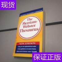 [二手旧书9成新]The Merriam-Webster Thesaurus 原版引进 韦氏字
