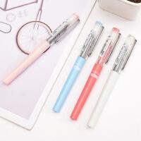 白雪彩色中性笔直液式走珠笔可爱小清新学生考试笔签字笔文具X88