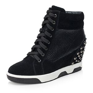 Teenmix/天美意二层牛皮/羊皮女靴6S561DZ6