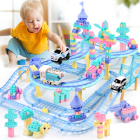 儿童小火车玩具套装轨道汽车3-4-6周岁电动充电男孩子7岁10