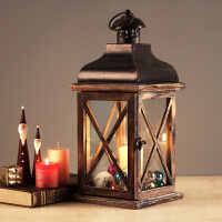 北欧复古创意防风香薰蜡烛烛台摆件