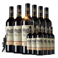 法国红酒 法国波尔多欧斯特酒庄原瓶进口维特干红葡萄酒 共两整箱