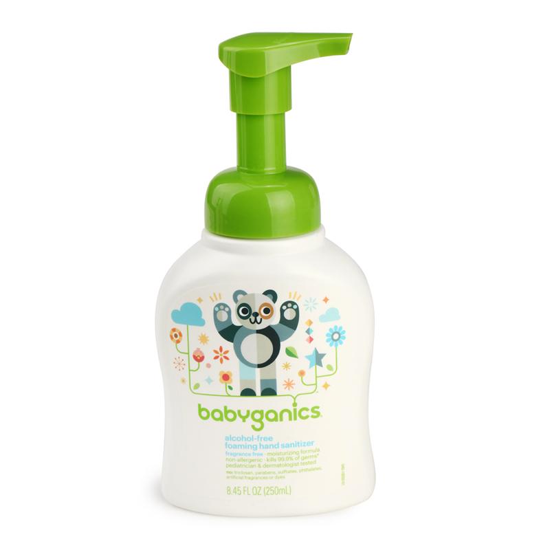 美国BabyGanics甘尼克宝贝免洗泡沫洗手液宝宝洗手液无香型250ml
