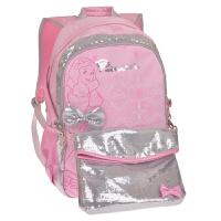 迪士尼/Disney BP6602B/粉色 小学生书包男女1-3-4年级公主减负双肩背包儿童8-10-12岁新年开学礼