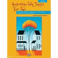 【预订】American Folk Songs for Two: 10 American Folk Songs