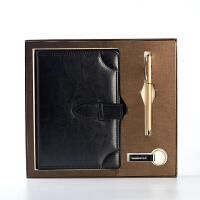商务笔记本皮面记事本定制日记本含礼盒装办公文具LOGO定制