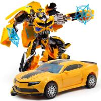变形玩具金刚大黄蜂汽车人机器人模型儿童玩具
