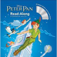 英文原版 彼得潘 书+CD 有声读物 Peter Pan Read-Along Storybook and CD 迪士