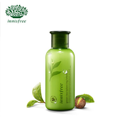 悦诗风吟 innisfree 绿茶精萃平衡柔肤乳 160ml 补水保湿  极致肌肤
