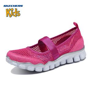 【11月12-13日大牌返场 狂欢继续】Skechers斯凯奇女童鞋新款透气舒适玛丽珍鞋 休闲鞋 664087L