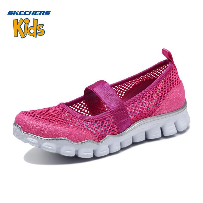 Skehers斯凯奇女童鞋新款透气舒适玛丽珍鞋休闲鞋 尺码偏大;请参照内长或询问客服