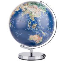 地球仪摆件发光台灯LED中英文学生教学地球仪30CM