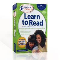 英文原版 自然拼读Hooked on Phonics Learn to Read - Level 6 迷上语音系列学习