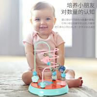 婴幼益智玩具儿童绕珠串珠男女宝宝通用积木绕珠0-1-2-3周岁早教