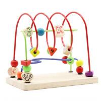 儿童男女孩宝宝早教玩具0-1-2周岁串珠绕珠6-12个月一岁