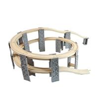 木制积木轨道场景配件 兼容木制托马斯火车组合配件 官方标配