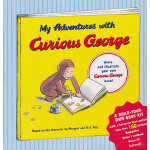 My Adventures with Curious George: A Build-Your-Own-Book Kit 好奇猴乔治去冒险DIY(精装礼品书)9780547226743