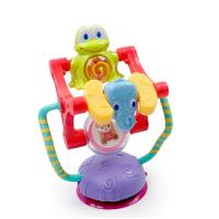 动物旋转摩天轮带吸盘餐桌摇铃婴儿餐椅推车吸盘玩具