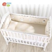 贝贝怡新生儿婴儿床品舒适柔软防风加厚宝宝保暖可拆卸套件九件套191P2039