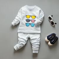 儿童内衣套装棉宝宝秋衣秋裤0-1-3-5岁彩棉男女婴幼儿棉毛衫