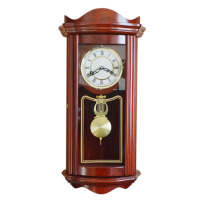 报时台钟 老式北极星机芯 中式欧式客厅实木机械挂钟座钟