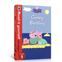 英文原版Peppa Pig: Going Boating Read It Yourself with Ladybird