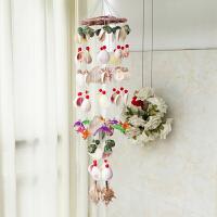 生日礼物 贝壳风铃天然贝壳风铃挂饰卧室创意女生儿童生日礼物礼物