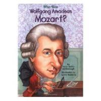【现货】英文原版 Who Was Mozart? 漫画名人传记:莫扎特是谁 中小学生读物