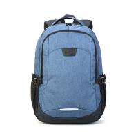 【2件5折】卡拉羊双肩包男背包4寸笔记本数码电脑包休闲旅行包大容量防泼水CX5951