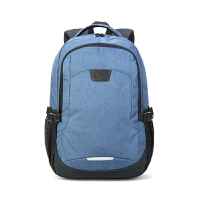 卡拉羊双肩包男背包14寸笔记本数码电脑包休闲旅行包大容量防泼水CX5951