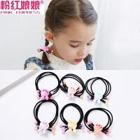 韩国儿童头饰不伤发皮筋发绳彩色卡通小女孩爱心头绳可爱女童发饰