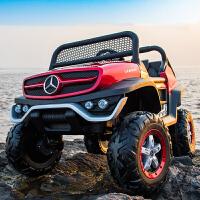 大型玩具车可坐人超大乌尼莫克儿童电动汽车四轮四驱遥控宝宝小孩奔驰玩具车可坐人
