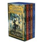 The Chronicles of Prydain Boxed Set (Book #1-5) 布莱德恩编年史(共5册)美国图书馆协会推荐童书ISBN 9781250000934