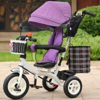 创意新款儿童三轮车脚踏车1-3-6岁大号单车童车自行车男女宝宝婴儿手推车