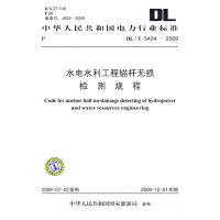 DL/T 5424-2009 水电水利工程锚杆无损检测规程