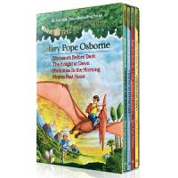 【全店300减100】英文原版绘本 神奇树屋1-4 magic tree house dinosaurs before